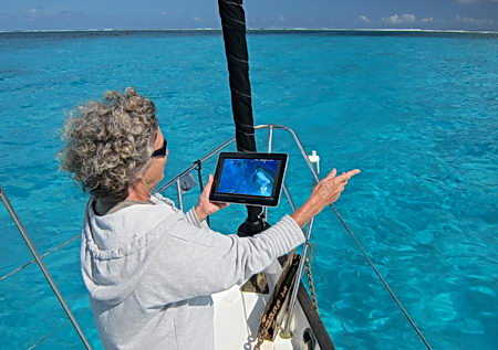 windows tablet and cruising guide