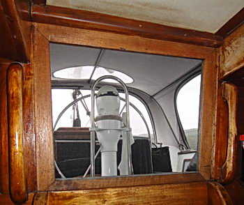 yacht screen for companionway