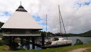 Hienghene marina new caledonia port of entry