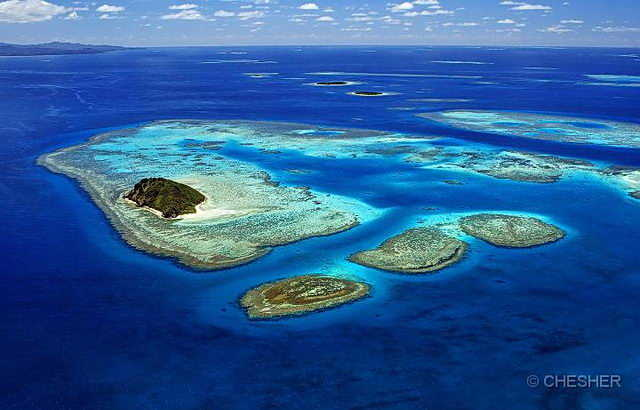 Lagoons Of New Caledonia Sights