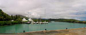 Touhu marina new caledonia port of entry